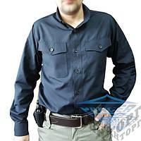 Рубашка милитари черная