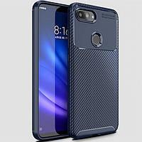 Чохол Carbon Case Xiaomi Mi 8 Lite Синій