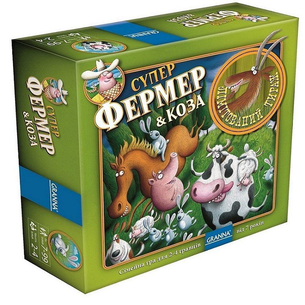 Настольная игра Granna Суперфермер & Коза (83491)