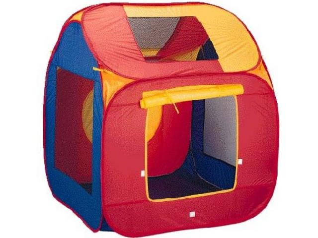 Палатки и домики, корзины для игрушек