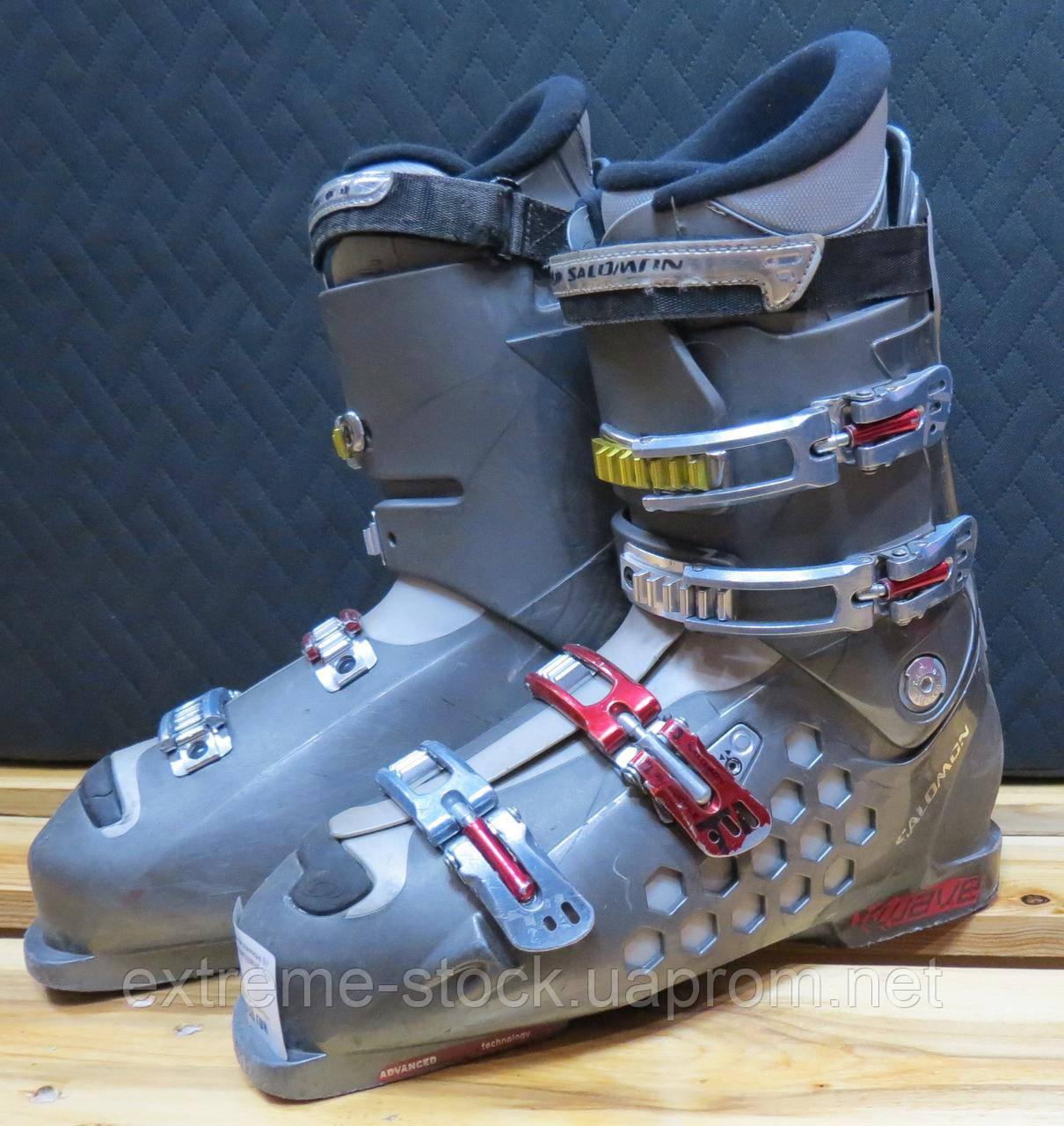 Ботинки лыжные БУ Salomon LUAVE 29
