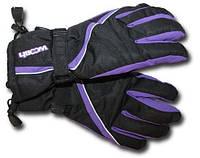 Перчатки Woosh черно - фиолетовый 7