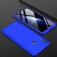 Пластиковая накладка GKK LikGus 360 градусов для Huawei Honor 8C Синий