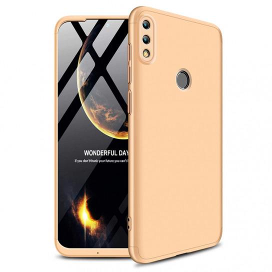 Пластиковая накладка GKK LikGus 360 градусов для Huawei Honor 10 Lite / P Smart (2019) Золотой