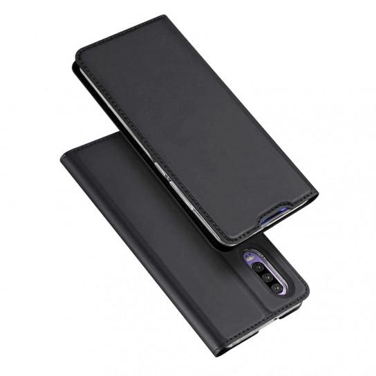 Чехол-книжка Dux Ducis с карманом для визиток для Huawei P30 Черный