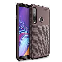 Чехол-накладка iPaky Kaisy Series для Samsung Galaxy A9 (2018) Коричневый