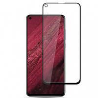 Защитное цветное стекло Mocolo (full glue) на весь экран для Huawei Nova 4 Черный