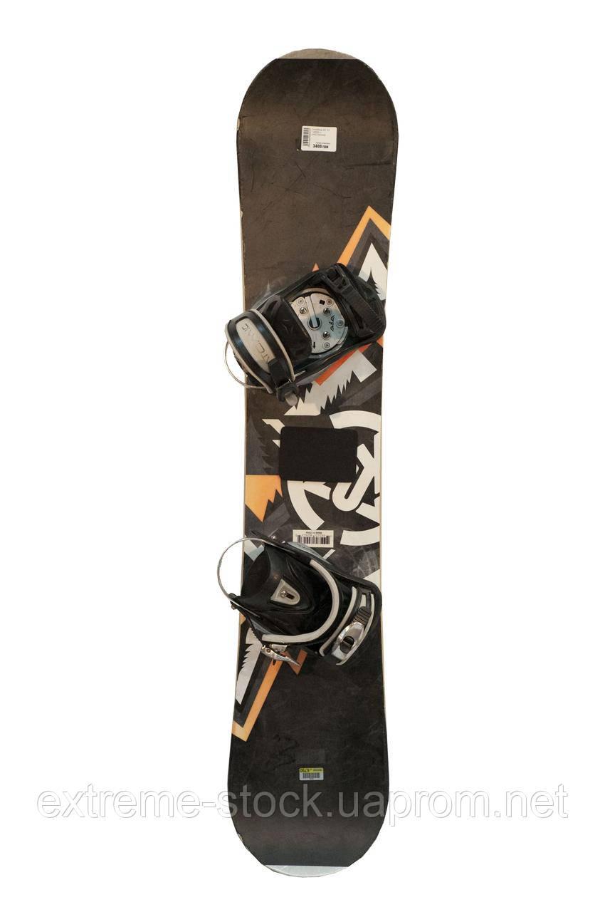 Сноуборд БУ K2 140CM + КРЕПЛЕНИЕ