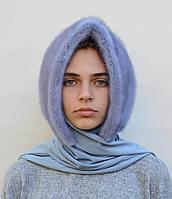Женский норковый платок Паук
