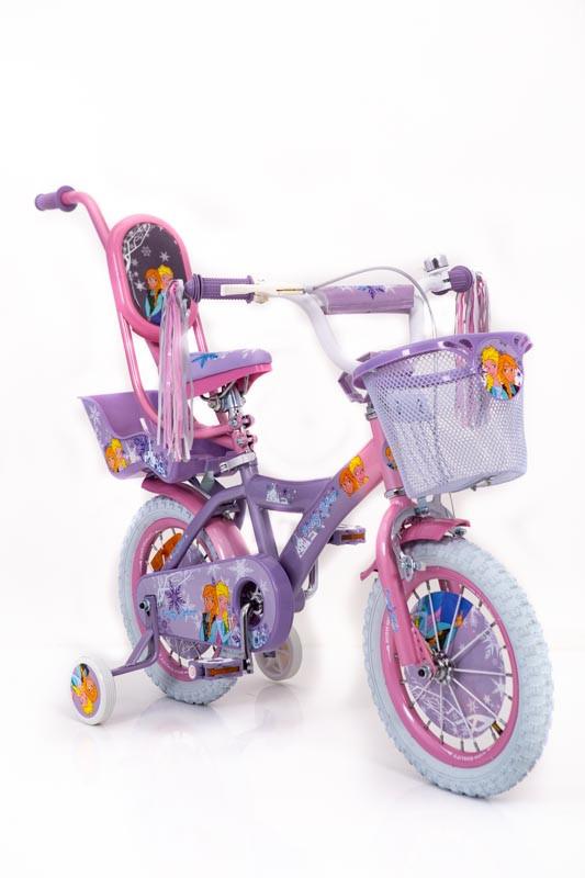 """Детский Велосипед 14"""" ICE FROZEN(Ледяное сердце, Ельза)"""