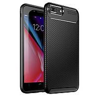 Чехол Carbon Case Apple iPhone 7 Plus / iPhone 8 Plus Черный