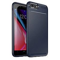 Чехол Carbon Case Apple iPhone 7 Plus / iPhone 8 Plus Синий