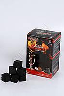Уголь кокосовый для Кальяна Sihisha Damask 1 кг 72 шт