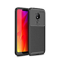 Чехол Carbon Case Motorola G7 Power Черный