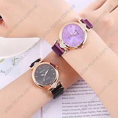 """Женские наручные часы на магнитной застежке """"Rinnandy"""" (фиолетовый), фото 2"""