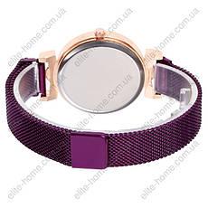 """Женские наручные часы на магнитной застежке """"Rinnandy"""" (фиолетовый), фото 3"""