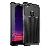 Чехол Carbon Case Huawei P10 Lite / Nova Lite Черный