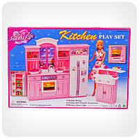 Детская игрушечная мебель Глория Gloria для кукол Барби Кухня 24016 . Обустройте кукольный домик Подроб
