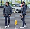 Мужской теплый костюм-тройка, батник+брюки+жилет, расцветки разные, размеры 48, 50, 52, 54, фото 2