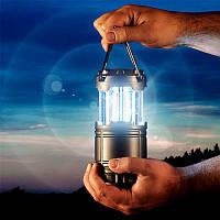 Кемпинговый фонарь G-85  на солнечной батарее Туристический фонарь-лампа с USB