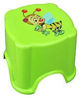 Табурет детский пластиковый с фотопринтом (ПолимерАгро)