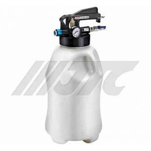 Приспособление для перекачивания масла и технических жидкостей 10л с пневматическим приводом