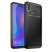 Чехол Carbon Case Honor Play Черный
