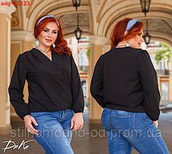 Жіноча блузка супер софт батал
