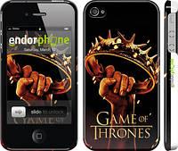 """Чехол на iPhone 4s Игра престолов 2 """"441c-12"""""""
