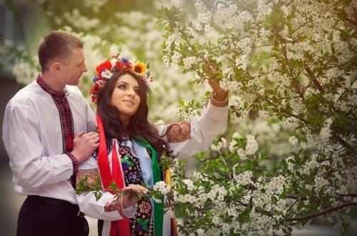 Вышиванка-визитная карточка Украины