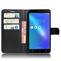 Чехол-книжка Litchie Wallet для Asus Zenfone 3 Max ZC553KL Черный