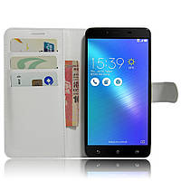 Чехол-книжка Litchie Wallet для Asus Zenfone 3 Max ZC553KL Белый