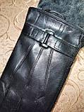 Кожа натуральная с махра мужские перчатки только оптом, фото 2