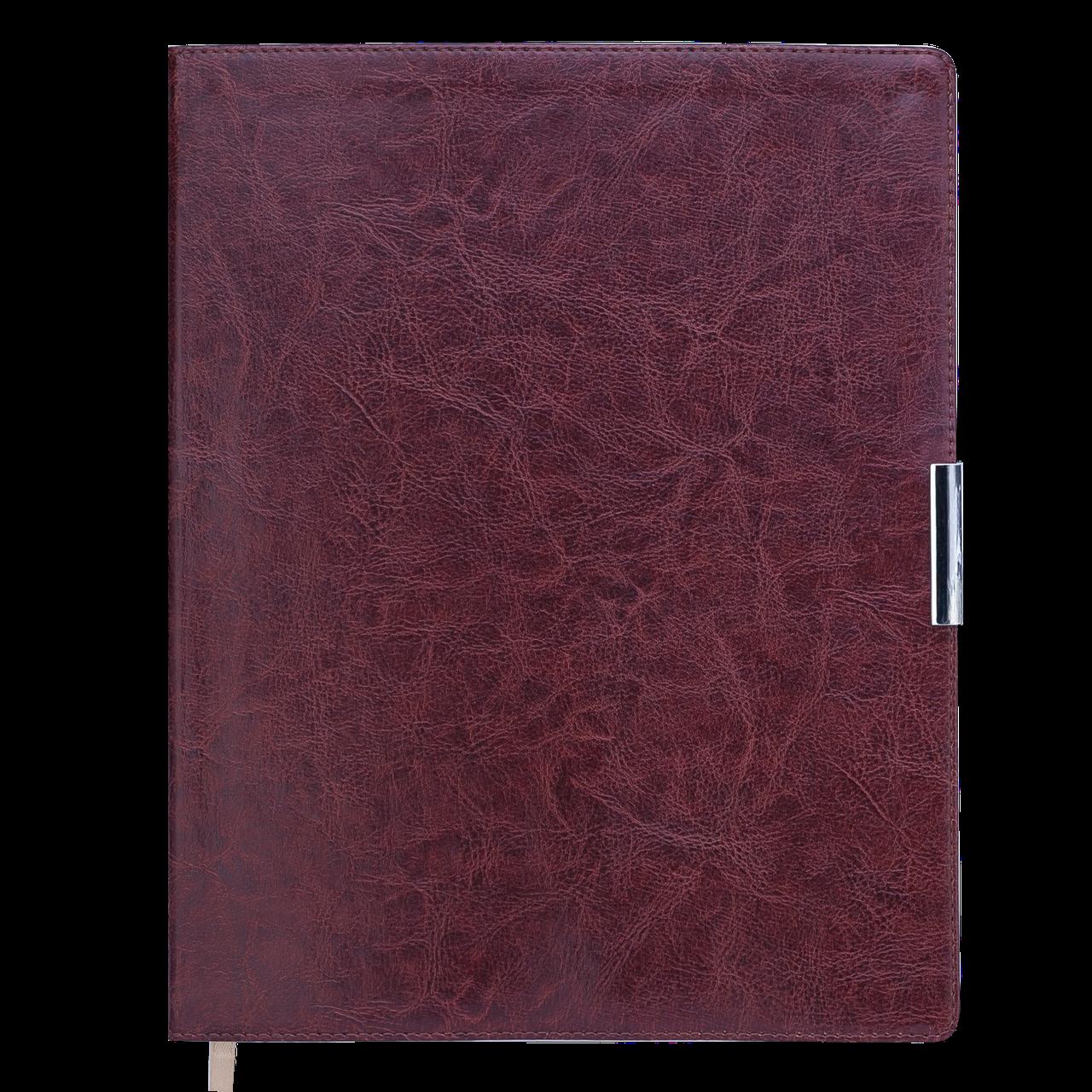 Еженедельник датированный 2020 SALERNO, A4, 136 стр. коричневый