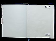 Еженедельник датированный 2020 SALERNO, A4, 136 стр. коричневый, фото 3
