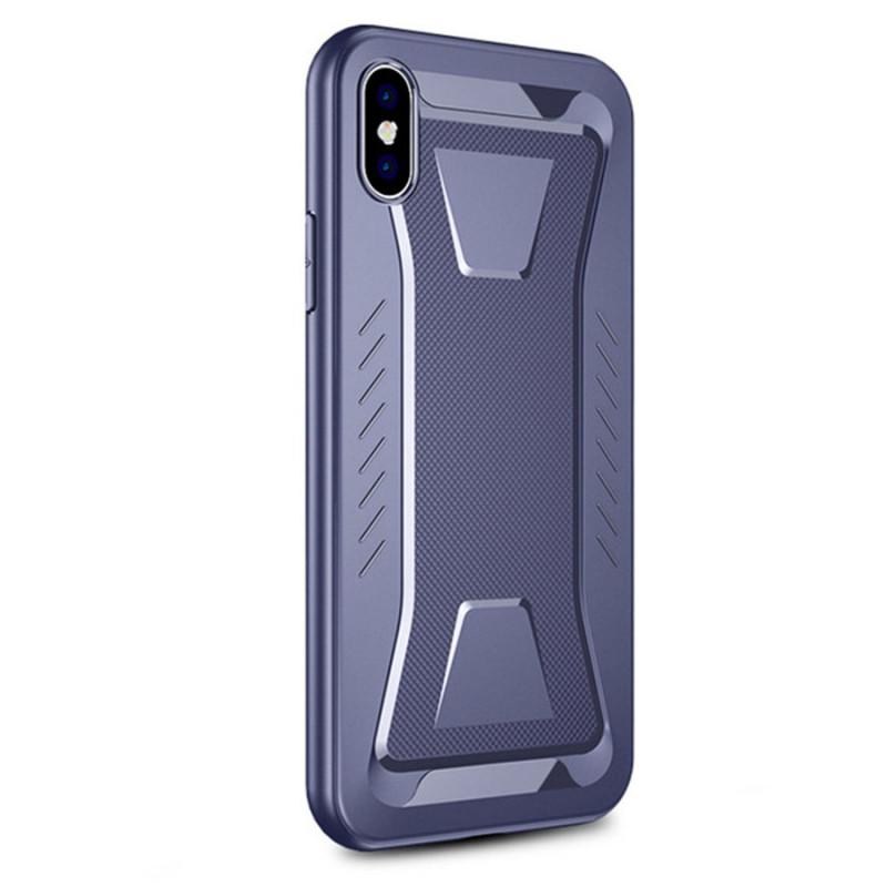 "Защитный чехол-накладка iPaky Linguard для Apple iPhone XS Max (6.5"") Синий"