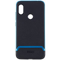 Чехол iPaky для Xiaomi Redmi Note 6 Pro Черный / Синий