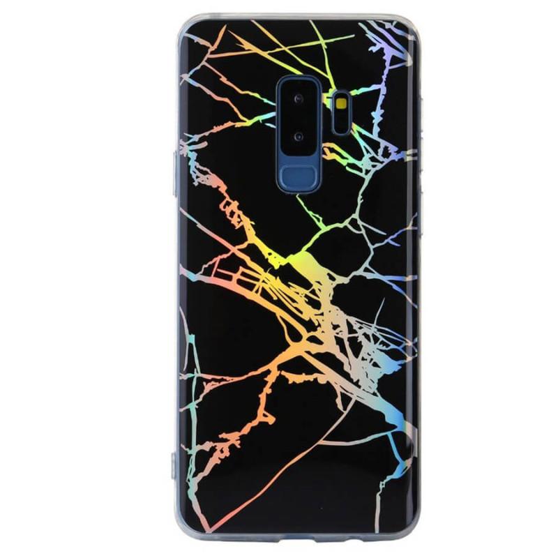 Чехол-накладка Marble Series для Samsung Galaxy S9+ Черный