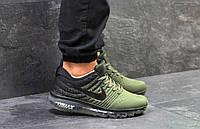 Мужские кроссовки Nike Air Max 2017 Green, зеленые. Код товара : KS 450