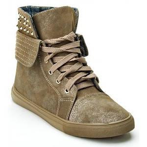 Ботинки женские Олива