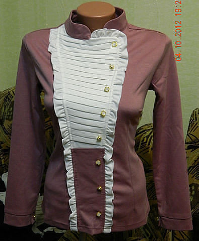 Блуза женская трикотаж