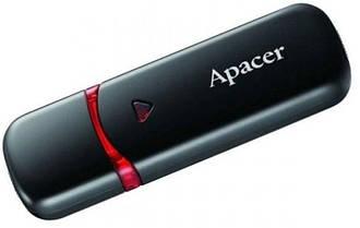 Флеш-пам'ять Apacer AH333 64GB Black