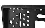 Камера заднего вида в авто номерной рамке с 4 LED подсветкой Blac, фото 6