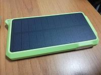 Внешний аккумулятор с солнечной панелью SS002 10000 мач Power Bank Solar Panel
