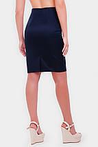 Женская деловая юбка карандаш больших размеров (Waist/1052 fup), фото 3