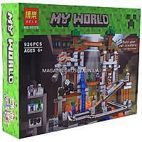 Конструктор Майнкрафт «My world» bela - Шахта, 926 деталей (10179)