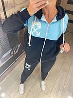 ЖІночий теплий спортивний костюм , 4 кольори.Р-ри 42-46, фото 1