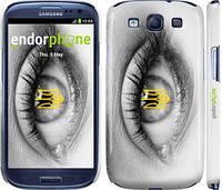 "Чехол на Samsung Galaxy S3 i9300 Глаз ""877c-11"""