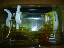 Течеискатель ультрафиолет.  для поиска утечек ERRECOM (очки, фонарик, инжектор, переходник, краска250мл.)