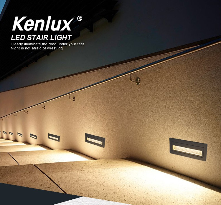 Светильник фасадный  К-2405 LED 6W  3000К 220V IP65 серый